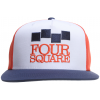 Foursquare Classic Stack Hat Currant