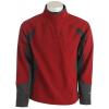 The North Face Sabertooth 1/2 Zip Fleece Biking Red/asphalt Grey