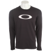 Oakley Rykkinn Baselayer Top Jet Black
