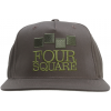 Foursquare Classic Stack Hat Walnut