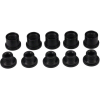 Problem Solvers Double Hex Head Chainring Bolts Black Alloy