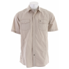 Planet Earth Parker Camp S/s Shirt Stone