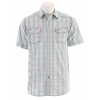 Planet Earth Patterson S/s Shirt Blue/khaki
