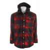 Sessions Outlaw Plaid Softshell Red Plaid