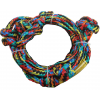 Proline Knotted Wakesurf Rope Rainbow 16ft