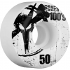 Bones 100s Og Skateboard Wheels Natural 50mm