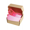 Picture Plastic Water Belt Pink