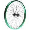 Framed Team Front Bmx Wheel Green 3/8in