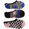 Vans Greenpoint Gal Canoodle 3pk Socks Stripe/check