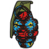 Grenade Patterns Sticker Southwest 8.5in