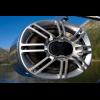 Aerial Blunt Speaker Pod 6X9 2.25-2.50 w/ Polk Speakers Polished Aluminum