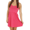 Roxy Fly Away Dress Rose Red