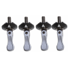 Ronix Toggle Bolt W/ Washer Set Of 4 Silver Wake Acc M6