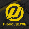 House Slap Sticker Black/yellow 3 X 3in