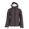 Burton Sanctuary Softshell Jacket True Black Feather Jacquard