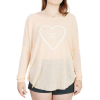 Billabong Keep It Going Raglan Peach Kiss