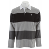 Nomis CutandSew L/s Rugby Shirt Athletic Heather