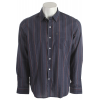 Volcom Why Factor Stripe L/s Shirt Dark Navy