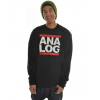 Analog Raising Hell Sweatshirt True Black