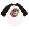Grenade Screamer Raglan Black