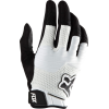 Fox Sidewinder Bike Gloves White