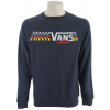 Vans Native Check Crew Sweatshirt Dark Denim