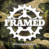 Framed Slap Sticker Camo 3x3in