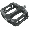 Wellgo Lu-a52 Platform Bike Pedals Black 9/16in