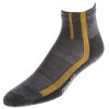 Point6 Cycling Velo Ultra Light Mini Crew Socks Gray