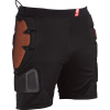 Red Total Impact Shorts Black