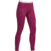 Icebreaker Oasis Leggings Stripe Baselayer Pants Magenta Overdye
