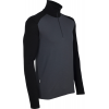 Icebreaker Tech L/s Half Zip Baselayer Top Monsoon/black
