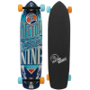 Sector 9 Carbon Flight Skateboard Complete Blue 9.25 X 36in