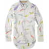 Burton Bristol L/s Shirt Vanilla Feather
