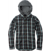 Burton Acorn Hooded Flannel Phantom Utica Plaid