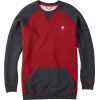 Burton Ryland Sweatshirt True Black/chili Pepper Heather