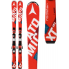 Atomic Redster Jr Iii Kids Skis 130 W/ Xte 7 Bindings