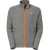 The North Face Tech 100 Full Zip Fleece Sedona Sage Grey Heather
