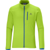 Salomon Discovery Fz Midlayer Fleece Organic Green