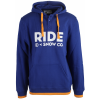 Ride Logo Henley Pullover Hoodie