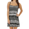 Roxy Buried Shell Dress True Black Print