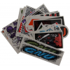 Gnu Small 25pk Stickers
