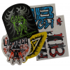 Lib Tech Medium 5pk Stickers