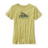 Patagonia Isle Wild Flying Fish Cotton Crew T-shirt