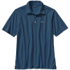 Patagonia Trout Fitz Roy Polo Glass Blue