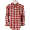 Pendleton Pioneer Fitted Shirt Red/tan Ombre