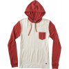 Rvca Set Up Hood Raglan Vanilla Heather