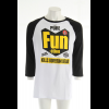 Volcom Pure Fun Raglan T-shirt Black