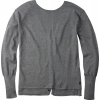 Burton Gracen Reversed Cardigan Sweater Dark Ash Heather