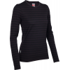 Icebreaker Tech L/s Stripe Baselayer Top Cognac Overdye
